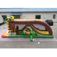 Quality Cartoon kids Bouncy Castle Inflatable jump house with slide For kids Inflatable for sale