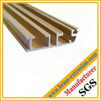 Wholesale window door frame Cu Zn Pb Fe brass channel profiles from china suppliers
