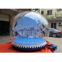 Wholesale Outdoor 3m Inflatable Human Size Snow Globe For Promotion from china suppliers