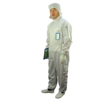 Wholesale 2.5mm Grid 98% 99% Polyester Antistatic ESD Coverall from china suppliers
