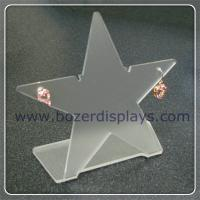 Wholesale Clear Star Shaped Acrylic Earring Holders from china suppliers