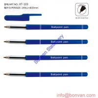 China simple plastic pen, yiwu plastic pen, plastic pen from wenzhou city for sale