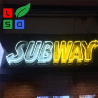Wholesale Acrylic Led Signage Led Neon Light Hand Made Logo Sign For Subway Using from china suppliers
