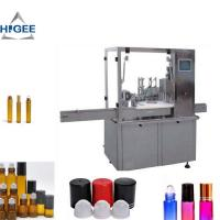 Wholesale Automatic Cosmetic Liquid Filling Machine 15ml Bottle Volume CE Certification from china suppliers