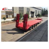 Wholesale Long Haul Freight Transport Extendable Semi Trailer With Q345B Steel Structure from china suppliers