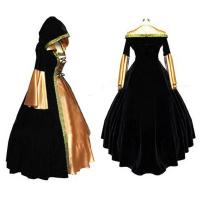 Wholesale Medieval Dress Wholesale XXS to XXXL Renaissance Medieval Elegant ROCOCO Punk Gothic Gown Ball Dress Cosplay from china suppliers