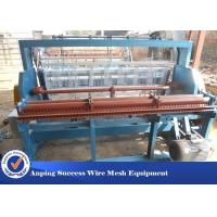 Wholesale Woven Technique Wire Mesh Crimping Machine Adjustable Width 2 - 20mm Mesh from china suppliers