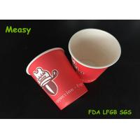 Wholesale 8oz Printed Coffee Paper Cups for tea / beverage , single PE materials from china suppliers
