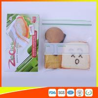 Wholesale Food Stroage Plastic Sandwich Bags LDPE / Zip Up Storage Bags For Supermarket from china suppliers
