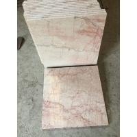 Popular Chinese Marble Rose Beige Marble Stone Big Slabs Cut to Size Tiles for sale
