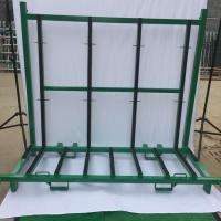 Wholesale Spray Paint Finish Defensive Barrier A Frame Rack Glass Storage Racks from china suppliers