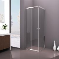 Wholesale China square sliding door tempered clear glass shower enclosure from china suppliers