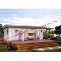 Buy cheap Lightweight 40ft Prefab Container House For Living Accommodation With Painted from wholesalers