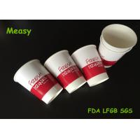 Wholesale Printing 12oz Insulated Paper Cups / eco friendly disposable coffee cups Red Black from china suppliers