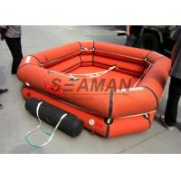 Wholesale 4 / 6 / 8 Person Inflatable Life Raft Leisure Inflatable Raft For Emergency from china suppliers