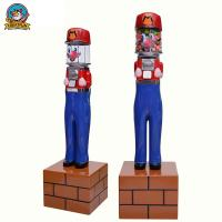 Wholesale Super Mario Bouncy Ball Machine , Fashionable Capsule Vending Machine from china suppliers