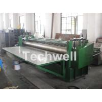 Wholesale G550Mpa 0.18mm Cold Roll Forming Machine , Glazed Tile Roll Forming Machine from china suppliers