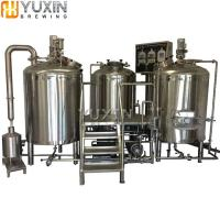 Wholesale Brewery Plant 1000L 2000L 3000L 5000L Commercial Beer Brewery Equipment for Sale from china suppliers