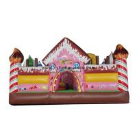 China Kids Inflatable Bouncer Hous , Inflatable Slide Castles Combo For Park for sale