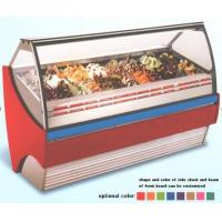 China 380L Ice Cream Showcase Freezer With Digital Temperature Controller And 1216mm Length for sale