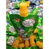 Wholesale Health Color Printing Vegetables Jucie Bag / Juice Container 8 oz or 250 ml from china suppliers
