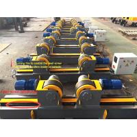 Wholesale Lead Screw Adjustment Welding Turning Rolls / Self Aligning Welding Rotator from china suppliers