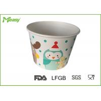Wholesale Customized Disposable Paper Bowl For Frozen Yogurt / Ice Cream , FDA  LFGB Standard from china suppliers