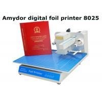 High Efficient Plateless Hot Foil Machine For Card Making 300Dpi Resolution for sale