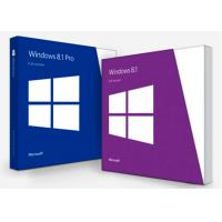 China English Microsoft Windows 8.1 License Key Professional Software 100% Online Activation for sale
