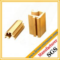 Wholesale decoration material brass alloy extrusion section from china suppliers