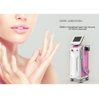 China Double Heads 1064 Nm Laser Hair Removal Equipment Diode Laser Depilation Machine for sale