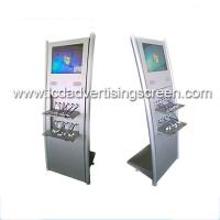 China Floor Stand Lcd Advertising Display Built In Multi Public Mobile Phone Charging Station on sale
