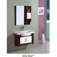 Wholesale 80 X49/cm PVC bathroom vanity / wall cabinet / hanging cabinet / walnut color for bathroom from china suppliers