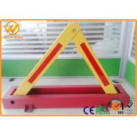CE Triangle Fordable Car Locked in Private Car Park 600mm Locking High 4.5kg Weight