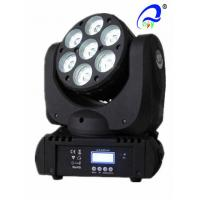 Quality RGBW 4 In 1 Osram Beam Moving Head Led Wash Lights 50 / 60Hz 8 Degree Beam Angle for sale