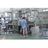 Wholesale PET Soda Filling Machine , Automatic Water Bottle Filling Machine With Reliable Performance from china suppliers