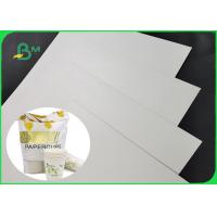 China One Side Coated 300g PLA Coating Paper Completely Degraded For Office Cups for sale