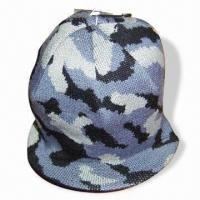 Wholesale Jacquard Knitted Hat with Peak from china suppliers
