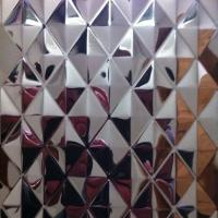 Wholesale SUS304 Embossed Stainless Steel Sheets ,PVD Color Decoration Sheets 1250mm 1500mm Rose gold, Brown, Bronze from china suppliers