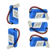 Wholesale Heated Clothes Battery Pack 7.4V 2200mAh  with PCM and connector, fit for medical, robot, tester, shaver, security from china suppliers