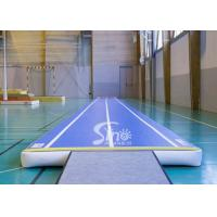 Wholesale Custom size airtight indoor blow up gymnastics inflatable air tumble track made of drop stitch fabric FOR SALE from china suppliers