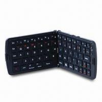 Multi-Functional Folding Mini Iphone 4 Bluetooth Keyboard Case with 3.6V Lithium Battery for sale