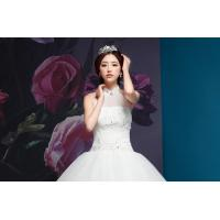 Wholesale Graceful Diamond Halter Neck Wedding Dresses with Sweep Train for Summer , spring , winter from china suppliers