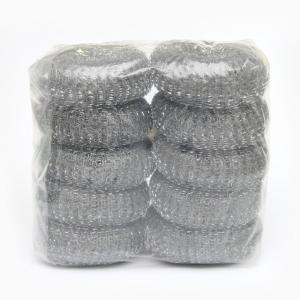 Buy cheap Kitchen Zinc Coated Washing Scourers / Galvanize Wire Mesh Pot Scourer from wholesalers
