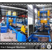 Best T Bar Grow Up Submerged Arc Welding Flange Plate Straightening Machine Save Space wholesale