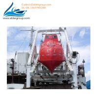Wholesale Totally Enclosed Freefall Lifeboat 19-22 Person Capacity With Davit 55KN CCS Certificate from china suppliers