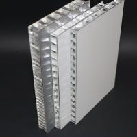 Wholesale 20mm Thickness Aluminum Honeycomb Panel , 10mm Metal Core Sandwich Curtain Wall from china suppliers