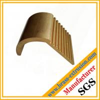 Wholesale brass extrusion profile section with teeth from china suppliers