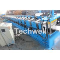 Wholesale 5 Ton Capacity Garage Door Roll Forming Machine With Wood Grain Embossing Machine from china suppliers