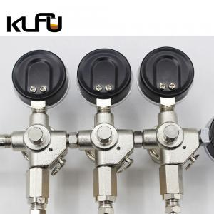 Wholesale Three Valves CO2 Pressure Regulator Valve Corrosion Resistance from china suppliers